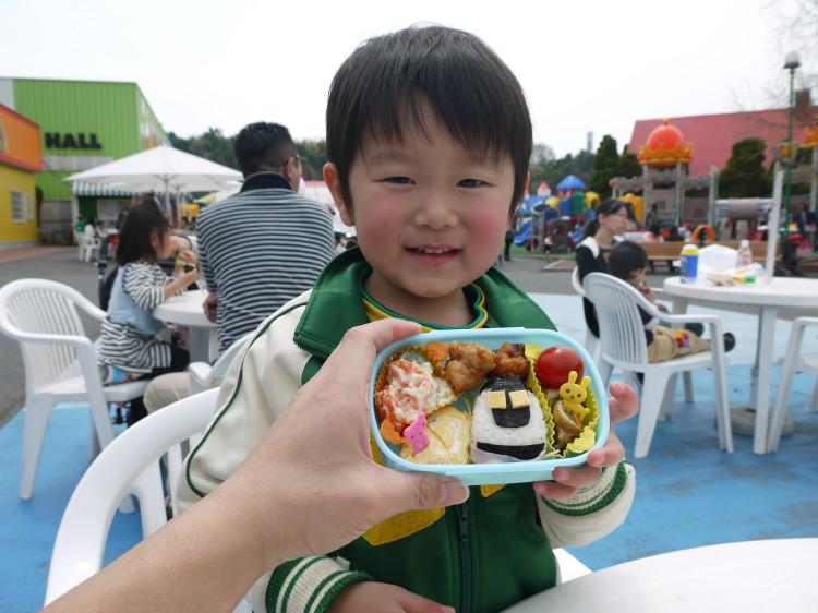 龍弥3歳の誕生日