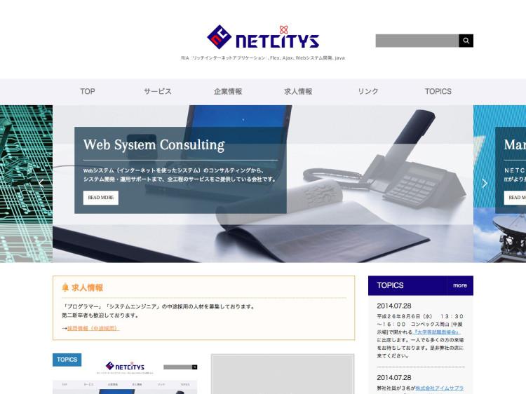 制作実績:NETCITYS株式会社